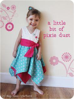 FREE: Pixie Dust Dress Tutorial