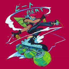 Leader of the GGs! Beat from JET SET RADIOOOOOOOO! . . . . . . . . . #KAINONAUT #Sega #jetsetradio #jetset #jsr #jsrf #graffiti… Game Character Design, Character Art, Geeky Wallpaper, Jet Set Radio, Air Gear, Futuristic Art, Video Game Art, Art Sketchbook, Art Inspo