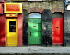 Doors in Dublin - Ireland