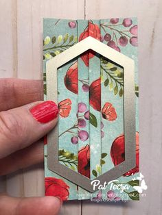 Fancy Fold Cards, Folded Cards, Paper Cards, Diy Cards, Cool Cards, Card Making Tutorials, Making Ideas, Paper Face Mask, Stamping Up Cards