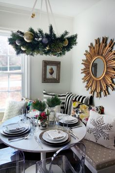 Gorgeous Christmas Table {by The Hunted Interior}