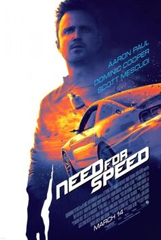 Une affiche avec Aaron Paul pour Need for Speed | Lyricis Interactive
