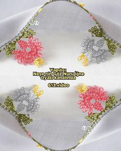 Needle Lace, Baby Booties, Knots, Diy And Crafts, Videos, Youtube, Instagram, Sewing Needles, Crocheting