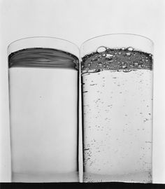 Irving Penn, Two Glasses of Water (B), New York,