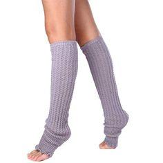 Newly Design Women Fashion Winter Long Leg Warmers Boot Socks Solid Boot Cuffs Toppers Ladies Winter Legwarmers