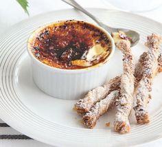 Vanilla crème brûlée - Michel Roux Jr
