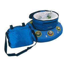 If you enjoy fishing or boating expeditions then the Heritage Float-A-Bout Cooler is a must-have for you. This easy-to-stow floating cooler will ensure that a cold drink is never far away. Floating Cooler, Down The River, Pool Furniture, Pool Accessories, Pool Floats, Cool Pools, Water Sports, Best Gifts, Cup Holders