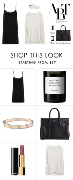 """Always the tone of surprise."" by biljanamilenkovic ❤ liked on Polyvore featuring moda, Freda, Byredo, Melissa, Cartier, Yves Saint Laurent, Chanel, Zara, Isabel Marant e women's clothing"