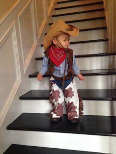 Toddler cowboy costume