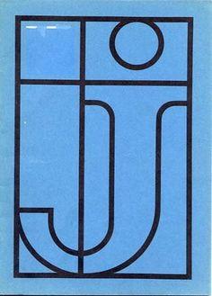 """""""Ontwerpen voor een drukkerij (Designs for a printing)"""" Exhibition Catalog, Designed by Gérard Ifert and Wim Crouwel, Stedelijk Museum, Amsterdam. 1962"""