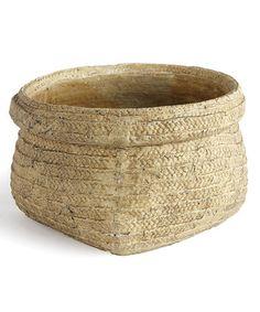 Love this Wide Garden Basket Cachepot by Napa Home & Garden on #zulily! #zulilyfinds