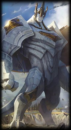 League of Legends- Galio, The Colossus.