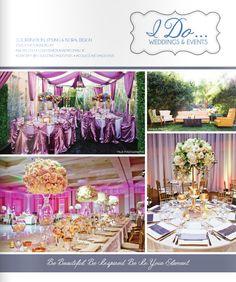 Ceremony Magazine 2015 Features | Concepts Event Design | San Diego Wedding & Event Decor - Rentals