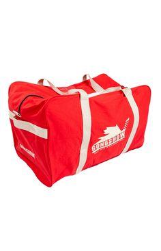 Hockey Bag Canuck - Gongshow Gear Inc. Gongshow Hockey, Lifestyle Clothing, You Bag, Skate, Hockey Apparel, Bags, Shoulder, School, Red