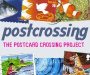 Postcrossing Postcards Exchange http://www.postcrossing.com/ - a project that allows anyone to receive postcards (real ones, not electronic) from random places in the world. Postcrossing Stats...325,076 members, 207 countries, 508 postcards per hour, 11,669,519 postcards received, 375,486 postcards traveling, 62,195,656,384 km traveled, 1,551,981 laps around the world .......Thinking about trying this! Not sure...think I really want an art mail exchange group. Hmmm, maybe do both.