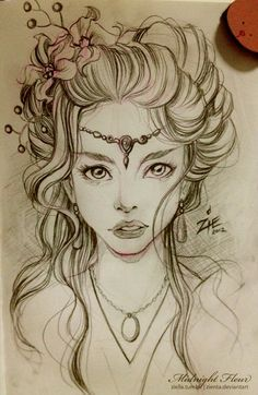 Drawings on Pinterest   kristina webb, pencil drawings and girl ...