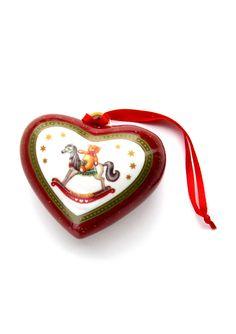 VILLEROY  BOCH  Fantasy Ornament Heart
