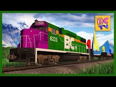 Number Train | Learn to Count from 1 to 100 for Kids in English - YouTube
