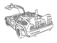 Coloring Pages moreover Blog besides 1962 Oldsmobile Wiring Diagram as well  on colored delorean