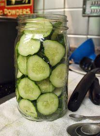 Easy pickles, No Brine Method, refrigerator method, water bath method, canning pickles, no brine mix in the jar pickles!
