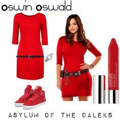 Oswin Oswald : Asylum of the Daleks cosplay