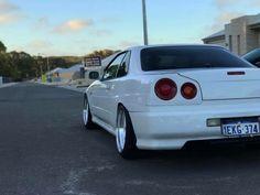 #Nissan #Skyline_R34 #Slammed #Stance #Camber #Fitment #JDM #Modified