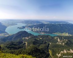 #Panoramic #View To #Lake #Mondsee From #Schafbergspitze @fotolia #fotolia @Salzkammergut @iSalzkammergut #Salzkammergut #landscape #nature #travel #summer #holidays #vacation #sightseeing #austria #outdoor #hiking #mountains #lakes #stock #photo #portfolio #download #hires #royaltyfree