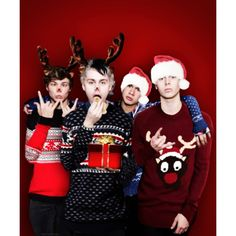 5sos christmas edit Tumblr ❤ liked on Polyvore featuring 5sos and band