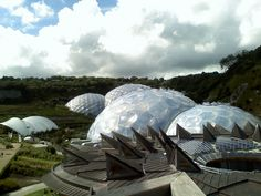 Grimshaw Architects: Eden Project Green Architecture, Amazing Architecture, Architecture Design, What On Earth, Eden Project, Civil Engineering, All Over The World, Sustainability, Architects