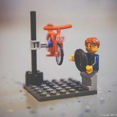 Lego bike mech