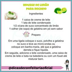 Receita para vcs!😊 Naked Cakes, Cake Boss, Tupperware, Mousse, Food Hacks, Delicious Desserts, Dinner Recipes, Food And Drink, Baking