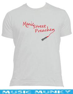 Manic street preachers new t-shirt male female kids manics stay beautiful