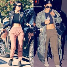 "@krazyinlovewithkardashians on Instagram: ""Yeezy moments by Kourtney and Kylie who wore it best?  #kourt #kourtney #kourtneykardashian #kylie #kylizzle #kyliejenner #iloveyou #idol #hair #gorgeous #jenner #kuwtk #kardashians #style #beautiful #body #kimkardashianwest #kimkardashian #kingkylie #throwback #flashback #yeezy #kanyewest #kanye #yeezus #twinning #whoworeitbetter #sisters #style #fashion #fashionista"""