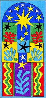Ode To Matisse Christmas Mural