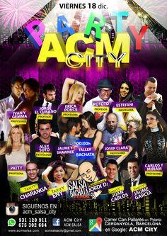 Fiesta PARTY en ACM CitY!!