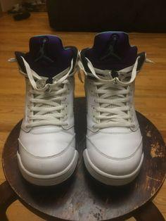 new york 14393 1813f Air Jordan Retro 5 V Grape size 11.5 Purple Nike IV III VI  fashion