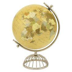 Iron Round Cage Stand Globe