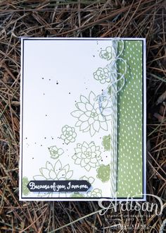 Hello and welcome to the official Stampin' Up! Artisan Design Team Blog Hop. We are a team of 20 demonstrators from all over the globe chos...
