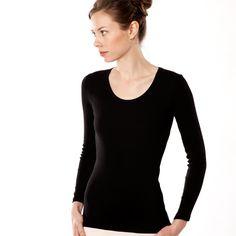 100 % Coton (bio) Living Crafts - Femme - Lingerie - T-shirt manches longues