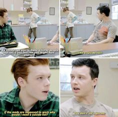 Shameless. Mickey and Ian. 5x09