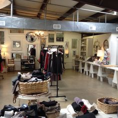 The Alabama Chanin Factory - so devine! Go there!