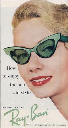 64100f056895c0 Ray Ban Photo Vintage, Retro Vintage, Retro Ads, Vintage Advertisements,  Vintage Green