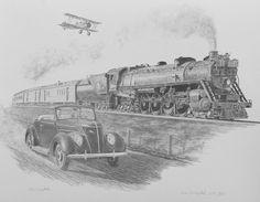 Racing the Train - Greytak