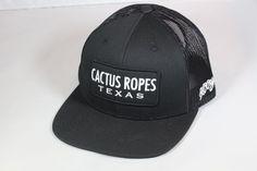 4b3689312c2 New Release Black Hooey Cactus Ropes Texas CR020 trucker hat
