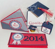 Luvin Stampin Craft Project Central Graduation