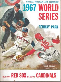 Cardinals - Red Sox 1967 World Series Program - Fenway Park