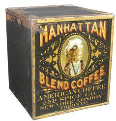 Manhattan Blend Coffee Bin