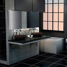 As cubas para banheiro são peças essenciais no ambiente. O modelo de apoio tem esse nome porque é encaixado em cima da bancada.