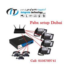 Office telephone system Cabling setup service Dubai  - Preview 1