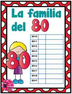 Decimos que dos o más números, con el mismo número de dígitos, son miembros de la misma familia, cuando dos de dichos números tienen al menos un dígito común. Por … Decimal, Kids And Parenting, Worksheets, Inspired, Tens And Units, Sight Word Activities, First Year, Initials, Texts